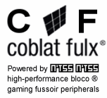 Coblat Fulx (CF) Cobalt Flux high-performance bloco gaming fussoir performance